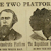 Election pamphlet from US, 1867 (Picture)