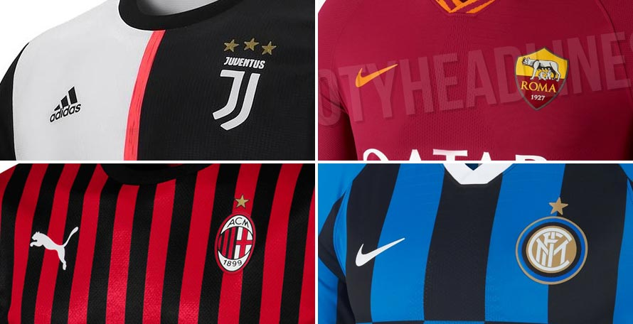 4936ca75032 All 19-20 Serie A Kits Leaked   Released So Far - Overview