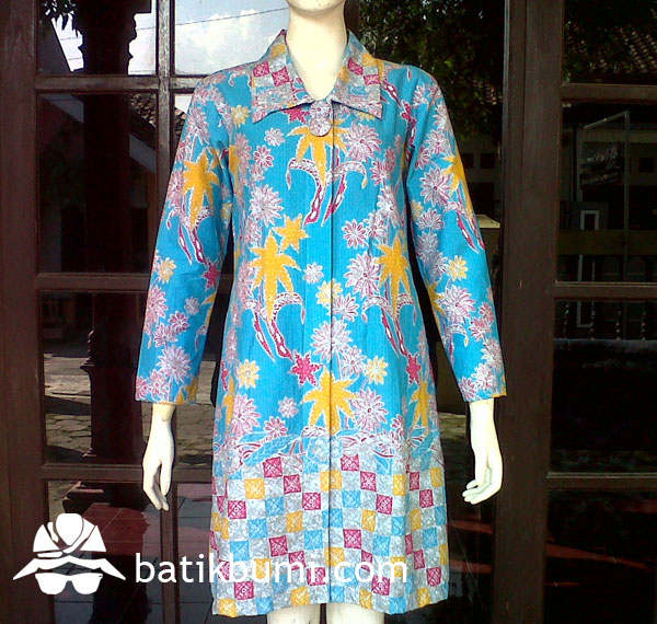 Tunik Batik Printing Sragen w/ Trikot DB 068