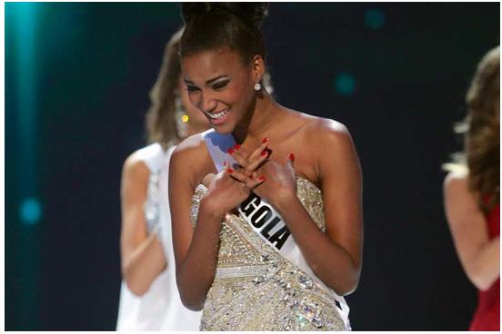 Congratulations Miss Angola - Miss Universe 2011