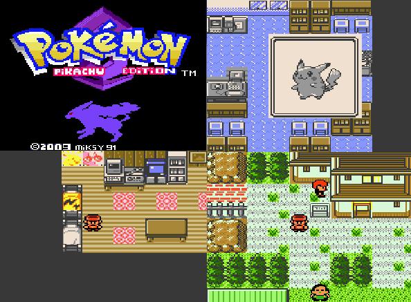 Pokemon Pikachu Edition GBC ROM Download