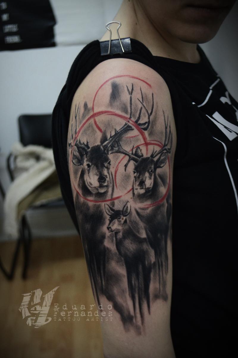 Elk Tattoo - Trash P