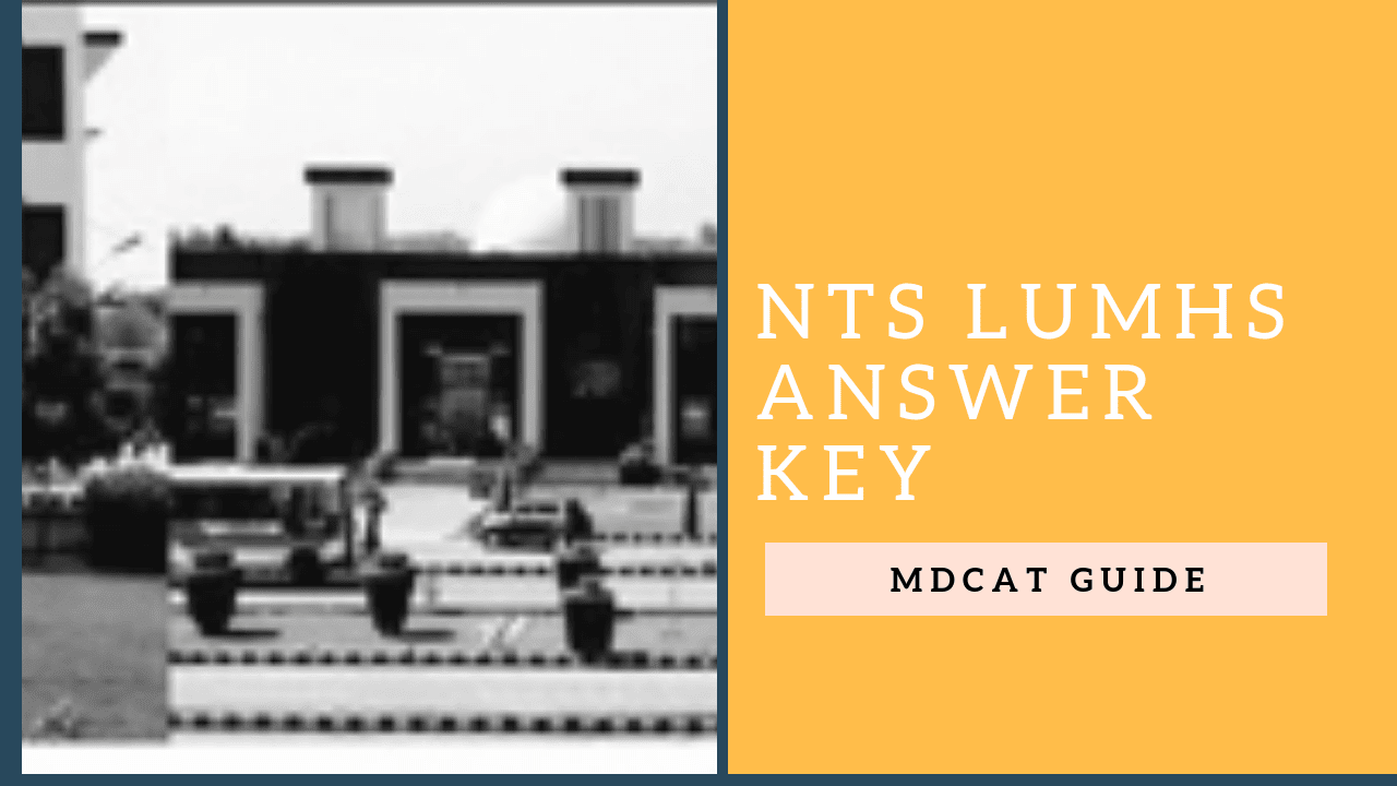 nts lumhs answer key 2019