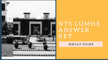 NUMS Answer Key 2019 (1st September) | MDCAT Guide