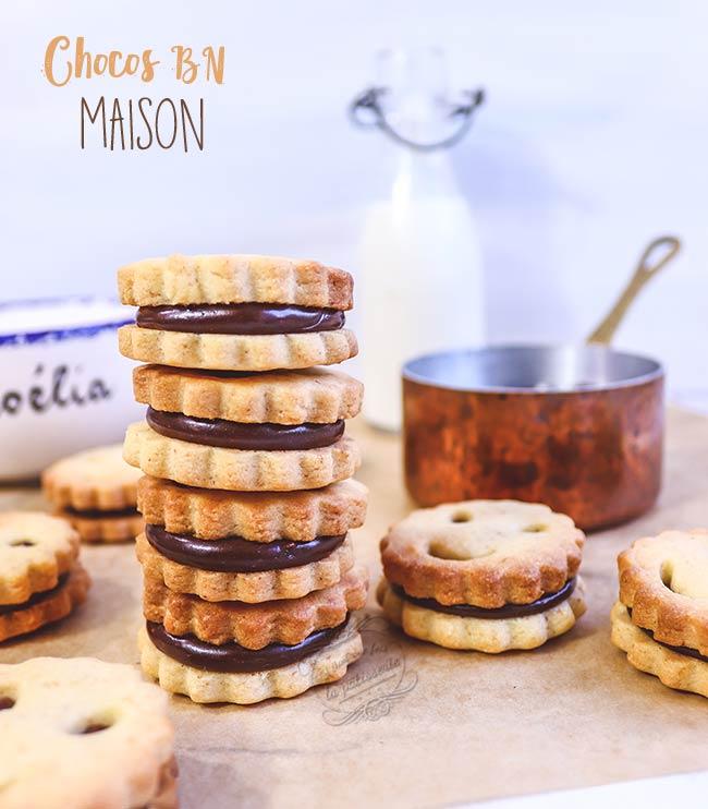 biscuits choco bn recette