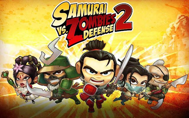 Samurai Vs. Zombies Defense