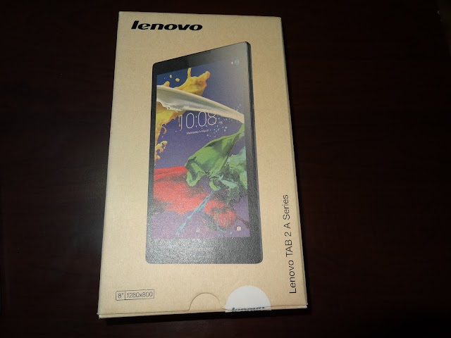 Lenovo TAB 2 A8-50F - my first tablet
