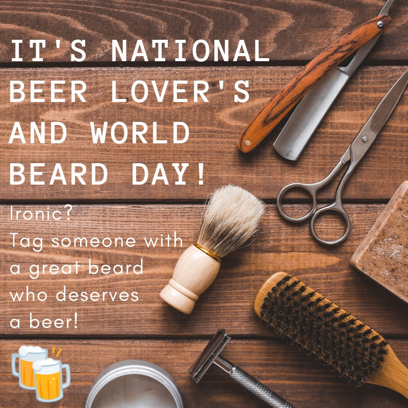 National No Beard Day Wishes Awesome Images, Pictures, Photos, Wallpapers