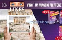 Logo Lines: vinci viaggio ad Atene con tour in realtà virtuale 3D