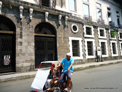 Manong Pedicab Driver at Intramuros