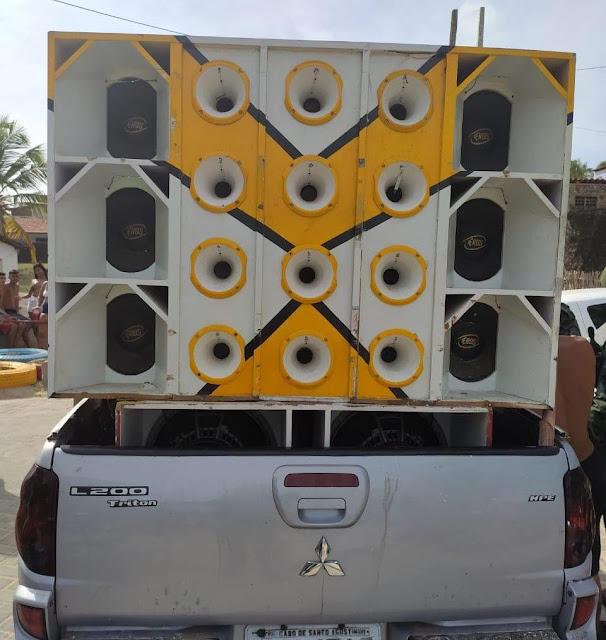 PM aplica R$ 25 mil em multas por paredão de som na PB no período de Carnaval
