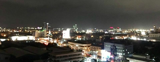 Overlooking some parts of Mandaue City - Mandaue City Lights