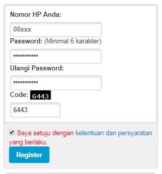 form registrasi XpSindonesia