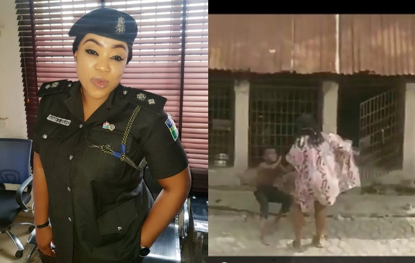 Police Gives Update On Search For Nigeria Woman Filmed Flogging A Boy With Belt, Lock Him In A Cage With Fierce Dog