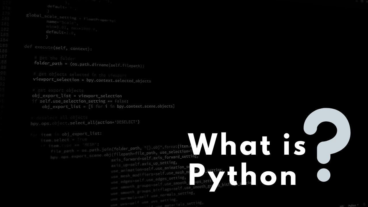 What is Python? All about Python Language