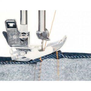 maquina de coser tela tejana