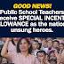 Special Incentive Allowance for Public School Teachers