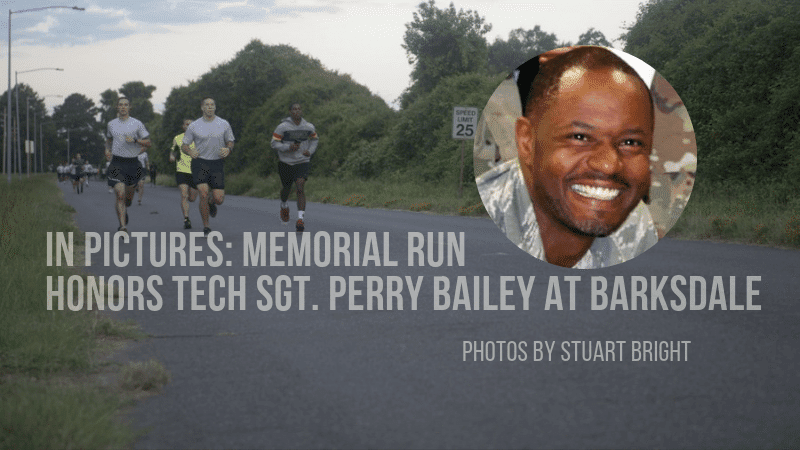Barksdale remembers Tech Sgt. Perry Bailey, Jr. with memorial run in his honor