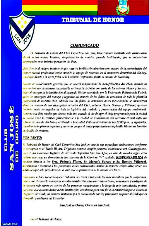 Resolucion de San José