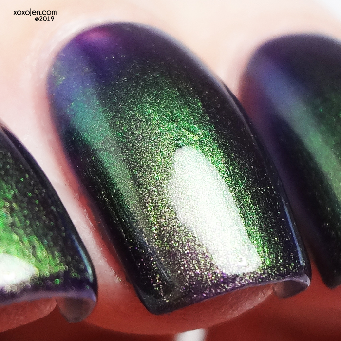 xoxoJen's swatch of Great Lakes Lacquer The Scorpion, The Serpent, The Phoenix