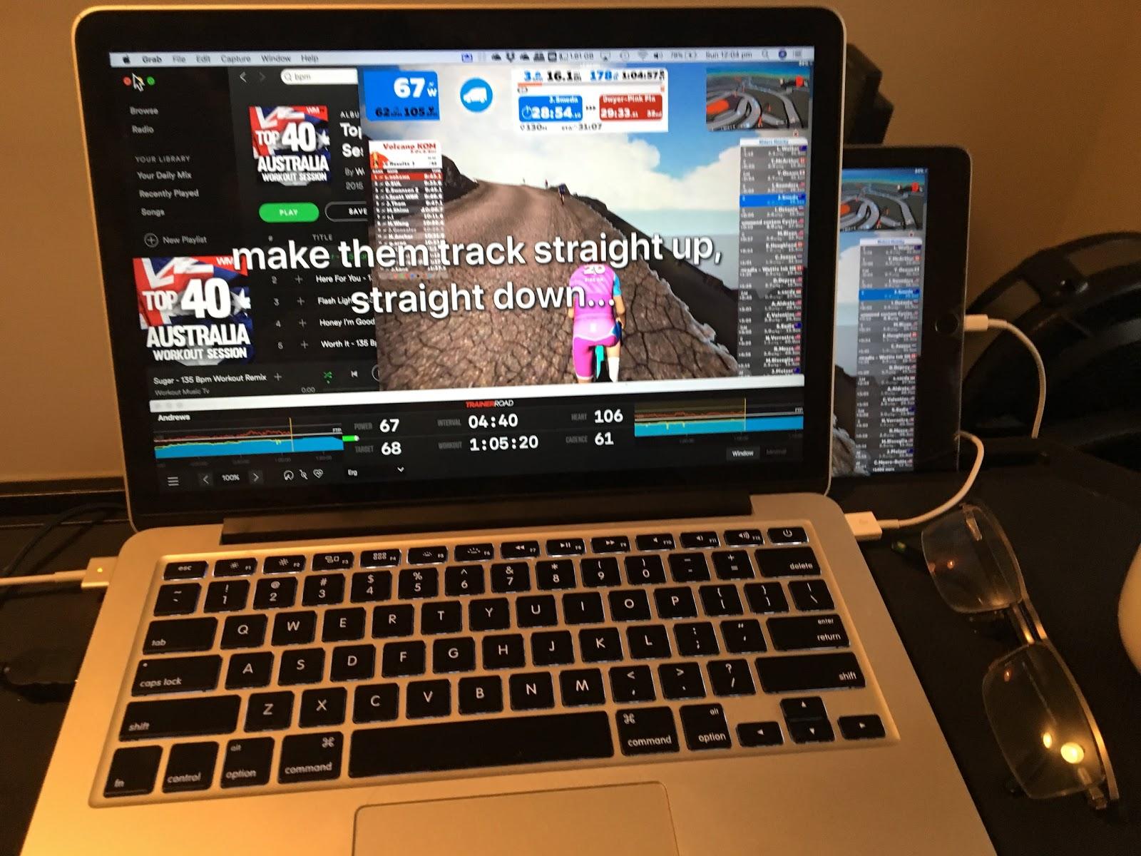 How to train using Zwift, TrainerRoad, Spotify, Wahoo Kickr, Tickr