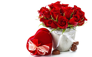 <div> Happy Valentine's Day Wishing Red Rose HD Pictures Collection</div>