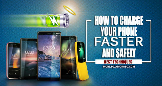 Top techniques on how to charge your phone faster and safely.