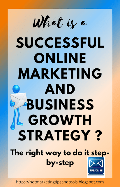 What is a successful online marketing and business growth strategy?
