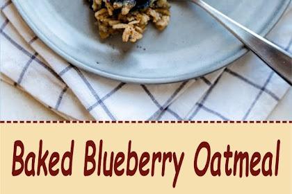 Baked Blueberry Oatmeal