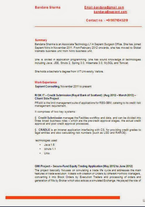 Cyber security resume
