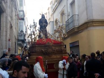 Las Penas de Cádiz esperan iniciar el dorado del paso tras la Semana Santa del 2020