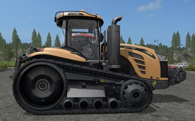 FS17 Challenger MT700E & MT800E with extras v1.0