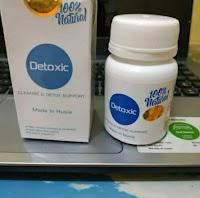 Detoxic natural original 100% Obat herbal alami Anti parasit cleanse & detox support