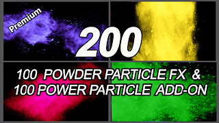 200 Powder Particle VFX Only $1.99