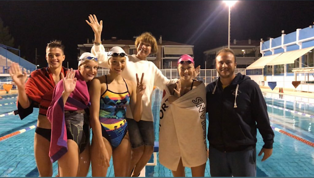 Στο Ναύπλιο κάνουν προετοιμασία πέντε Ρώσοι Πρωταθλητές κολύμβησης