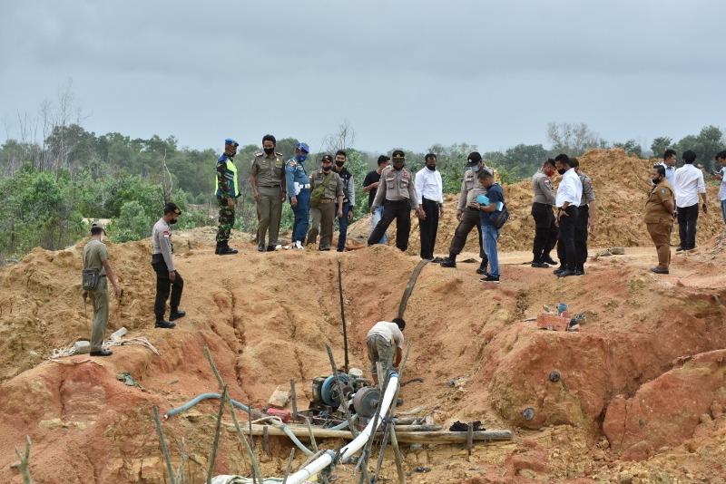 Kapolres Bintan Bentuk Tim Pemberantas Tambang Pasir Ilegal di Bintan