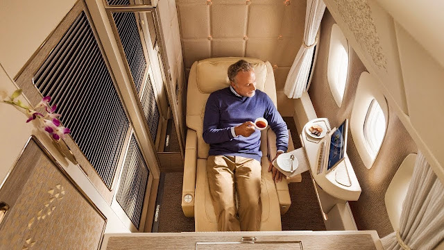 Coronavirus changes the face of Emirates first and business class
