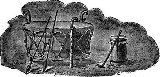 Ojibwe drums