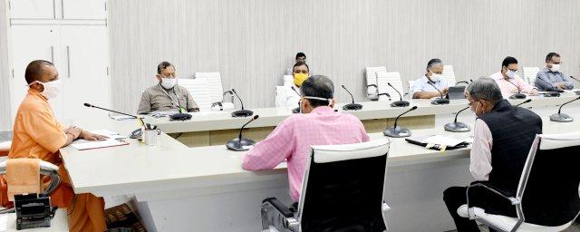कोरोना बचाव के प्रति अग्रिम रणनीति से ही कोविड पर प्रभावी नियंत्रण स्थापित किया जा सकता है -मुख्यमंत्री योगी