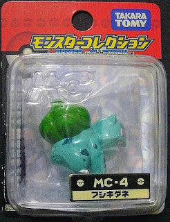 Bulbasaur figure Takara Tomy Monster Collection MC series