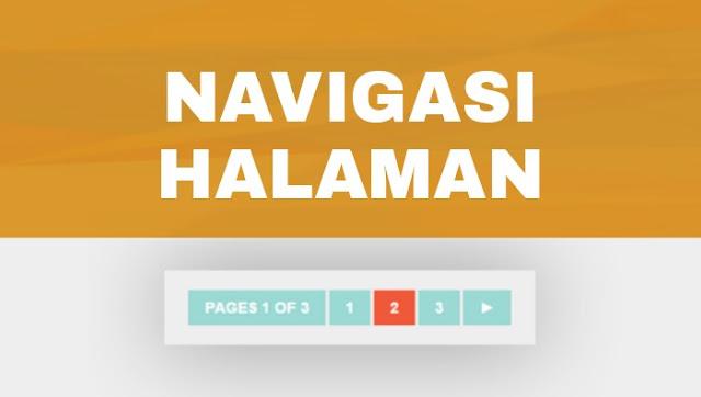 Page navigation Valid HTML 5