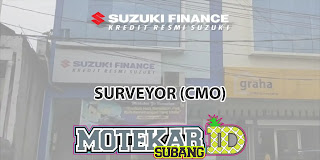 Lowongan Kerja Surveyor Suzuki Finance Purwakarta 2019
