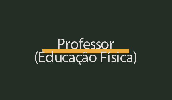 Prova de Concurso para Professor (Educação Física) com Gabarito