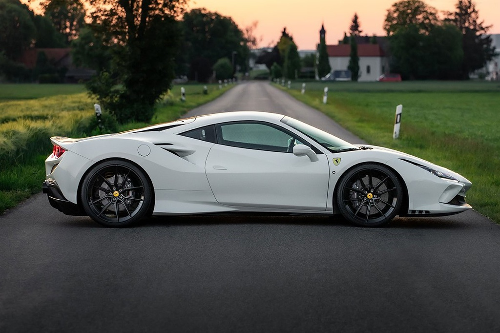 Ferrari F8 Tributo nâng cấp động cơ đạt công suất 776 mã lực
