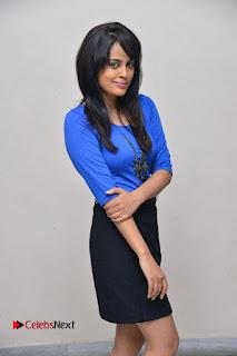 Actress Nandita Swetha Stills in Black Mini Skirt at Ekkadiki Potavu Chinnavada Movie Special Show  0037.JPG