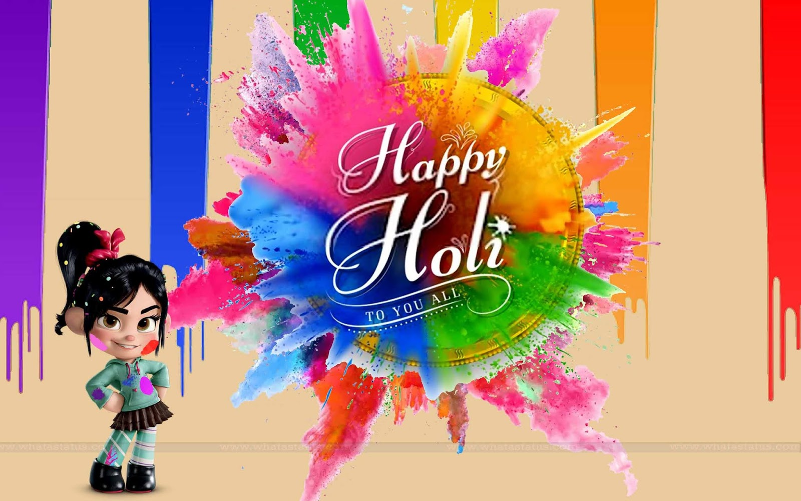 Cartoon-Happy-Holi-Wallpapers