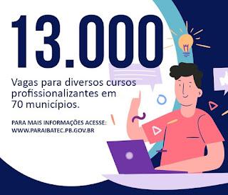 Oportunidade para os jovens do Campo de Picuí e Barra de Santa Rosa