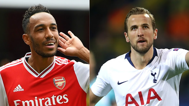 Aubameyang and Harry Kane are the players to watch for Arsenal and Tottenham during the North London derby