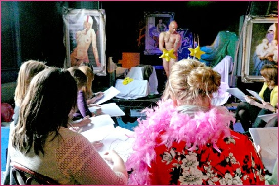 Life drawing hen parties