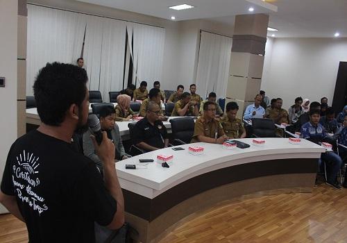 Bentuk kolaborasi Disporapar Pemerintah Kabupaten Tanbu dengan Borneo Trip lewat Workshop Destinasi Digital